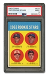 1963 TOPPS #537 PETE ROSE - PSA MINT 9