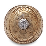 JESSIE HAINES 1926 ST. LOUIS CARDINALS WORLD SERIES CHAMPIONSHIP RING