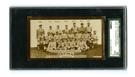 1913 T200 FATIMA ST LOUIS NATIONALS - SGC 50 VG/EX 4