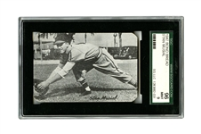 RARE 1947 BOND BREAD STAN MUSIAL ROOKIE - SGC 96 MINT 9