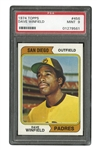 1974 TOPPS #456 DAVE WINFIELD ROOKIE CARD - PSA MINT 9