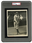 1927 YANKEES TONY LAZZERI EARLY ORIGINAL PHOTOGRAPH BY CHARLES CONLON - (PSA/DNA TYPE I)