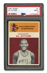 1961 FLEER #1 AL ATTLES - PSA MINT 9