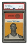1961 FLEER #4 WALT BELLAMY - PSA NM-MT 8