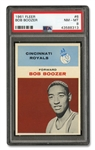 1961 FLEER #6 BOB BOOZER - PSA NM-MT 8