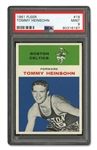 1961 FLEER #19 TOMMY HEINSOHN - PSA MINT 9