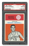 1961 FLEER #20 BAILEY HOWELL - PSA MINT 9