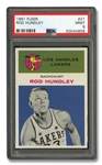 1961 FLEER #21 ROD HUNDLEY - PSA MINT 9
