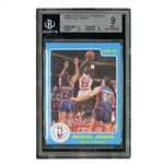 "1986 STAR CO. ""BEST OF THE NEW"" MICHAEL JORDAN - BGS 9"