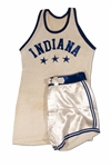 CLYDE LOVELLETTES 1948 INDIANA HIGH SCHOOL ALL-STARS GAME WORN UNIFORM (LOVELLETTE COLLECTION)