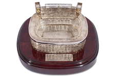STERLING SILVER MODEL OF THE ESTADIO BERNABEU PRESENTED TO ALFREDO DI STEFANO (RONY ALMEIDA COLLECTION)