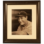 EXTRAORDINARY LOU GEHRIG SIGNED 8 X 10 PHOTOGRAPH (AL TAPPER COLLECTION) - PSA/DNA MINT 9
