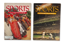 AUGUST 16 & 23, 1954 FIRST AND SECOND ORIGINAL ISSUES OF SPORTS ILLUSTRATED (AL TAPPER COLLECTION)