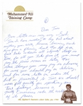 OUTSTANDING MAY 19, 1973 SIGNIFICANT MUHAMMAD ALI THREE PAGE HANDWRITTEN LETTER TO JIM MURRAY (AL TAPPER COLLECTION) - PSA/DNA LOA & MURRAY FAMILY LOA