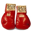 "1980 ROBERTO DURAN ""NO MÁS"" FIGHT WORN GLOVES VS. SUGAR RAY LEONARD (AL TAPPER COLLECTION)"
