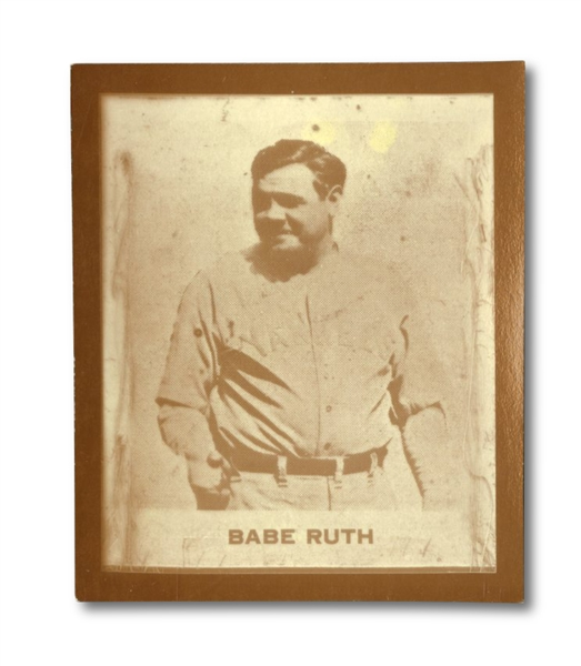 "RARE 1930 RAY-O-PRINT 2"" X 2.5"" BABE RUTH BASEBALL CARD"