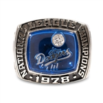 1978 LOS ANGELES DODGERS NATIONAL LEAGUE CHAMPIONSHIP RING