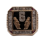 1998 MICHAEL JORDAN SIX CHICAGO BULLS CHAMPIONSHIP PRESENTATIONAL RING