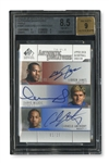 2003-04 SP SIGNATURE EDITION JAMES/MILICIC/ANTHONY (TRIPLE SIGNATURES) LIMITED EDITION (1/25) - BGS NM-MT+ 8.5 - AUTO 9