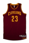 2016-17 LEBRON JAMES CLEVELAND CAVALIERS GAME USED JERSEY - MEARS