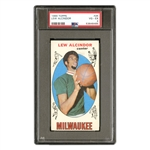 1969 TOPPS #25 LEW ALCINDOR BASKETBALL CARD - PSA VG-EX 4
